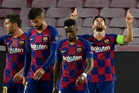 Barcelona vai em busca do sexto título de sua história na Liga dos Campeões (Foto: LLUIS GENE / AFP)