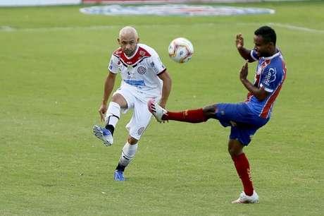 Bahia venceu o Atlético Alagoinhas nos pênaltis (Foto: Felipe Oliveira/EC Bahia)
