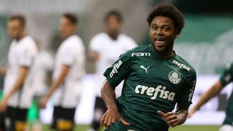 Luiz Adriano fez o gol do Palmeiras na final (Foto: Cesar Greco)