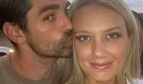 Justin Gaston e sua mulher, Melissa Ordway: casamento feliz longe da indústria de fofocas