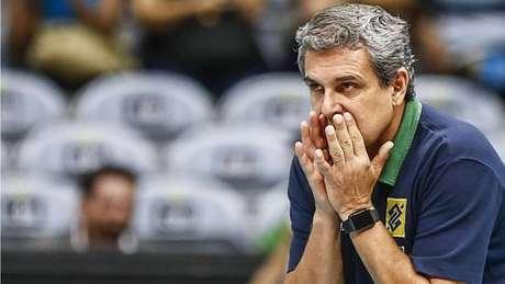 José Roberto Guimarães, técnico da seleção brasileira feminina de vôlei.