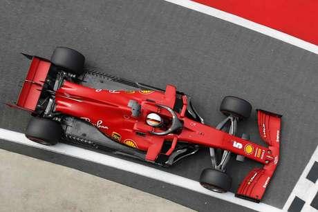 Sebastian Vettel em Silverstone