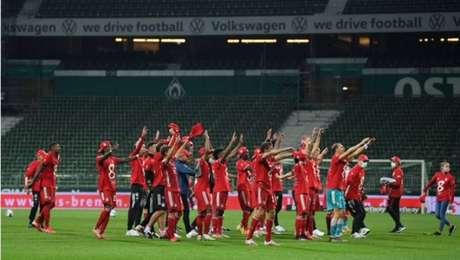 Bayern de Munique venceu as últimas oito edições do Campeonato Alemão