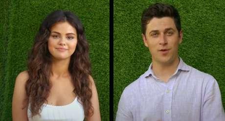 Selena Gomez e David Henrie anunciaram que irão lançar um filme juntos