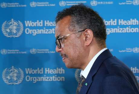 Diretor-geral da OMS, Tedros Adhanom Gebreyesus, em Genebra 25/06/2020 REUTERS/Denis Balibouse