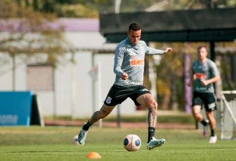 Luan não vem agradando com a camisa do Corinthians (Foto: Rodrigo Coca/Ag. Corinthians)