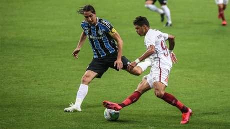 Em sua estreia no Brasileirão 2020, Fluminense perde para o Grêmio por 1 a 0, na Arena (Foto: Lucas Merçon/Fluminense)