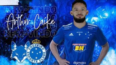 Arthur é mais um reforço da Raposa para buscar o retorno à elite do Brasileirão-(Divulgação/Felipe Oliveira)