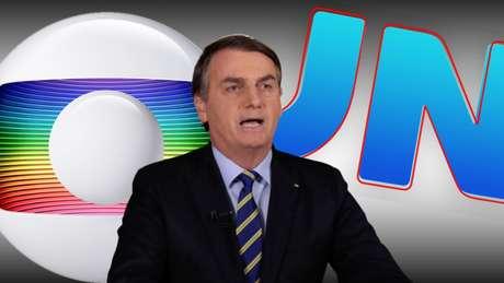 Bolsonaro interrompeu a trégua de algumas semanas ao voltar a atacar a Globo