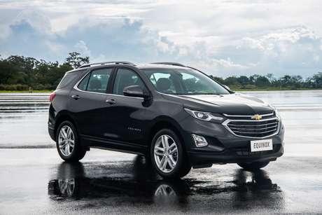 Chevrolet Equinox: mais em conta do que o Territory e também mais potente.