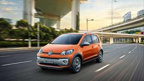 """Volkswagen CrossUp: uma das muitas tentativas com um carro que """"não pegou""""."""