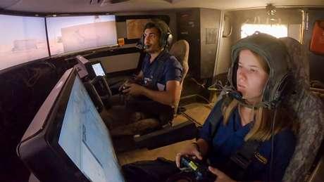 Controle de Xbox usado para comandar o tanque israelense Carmel