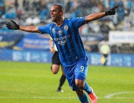 Júnior Negão é um dos principais nomes do futebol sulcoreano (Foto: Divulgação)