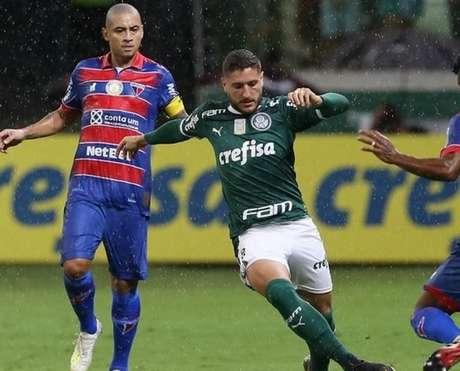 Verdão estreou com vitória no ano passado com goleada para cima do Fortaleza (Cesar Greco/Agência Palmeiras)