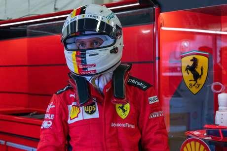 O GP dos 70 Anos foi muito complicado para Sebastian Vettel