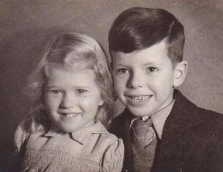Tony e sua irmã, Eleanor