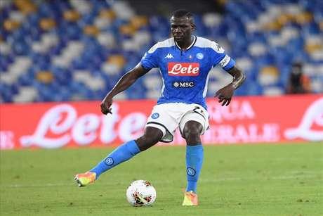 Koulibaly fez uma grande temporada com o Napoli (Foto: Divulgação / Napoli / Site oficial)