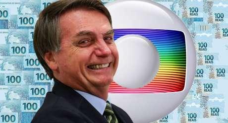 """No final de 2019, Bolsonaro falou em uma live sobre a verba do governo à Globo: """"Acabou essa mamata, não tem dinheiro público para vocês, acabou a teta"""""""