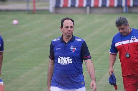 São Paulo terá pela frente a equipe comandada pelo ídolo Rogério Ceni (Foto: Divulgação/Fortaleza)