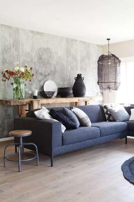 13- Para obter um efeito marmorato adequado a parede deve ser regularizada. Fonte: Pinterest