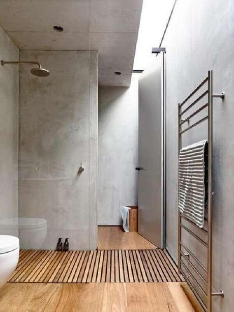 25- Na arquitetura moderna o marmorato realça os estilos do mobiliário com linhas retas. Fonte: Pinterest