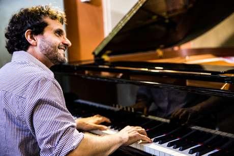 """O músico Flavio Iannuzzi, autor da trilha de """"30 Anos Blues"""""""