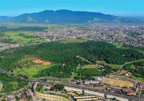 Área onde o consórcio Rio Motorsports pretende construir o autódromo de Deodoro