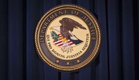 Logo do Departamento de Justiça dos EUA   05/12/2013 REUTERS/Carlo Allegri