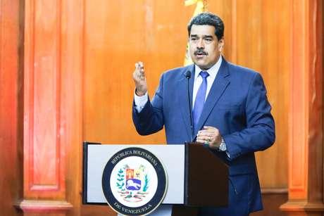 Presidente da Venezuela, Nicolás Maduro  29/06/2020 Palácio de Miraflores/Divulgação via REUTERS