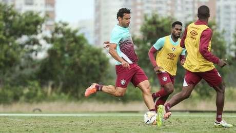 Fred em ação pelo Fluminense (Foto: LUCAS MERÇON / FLUMINENSE)