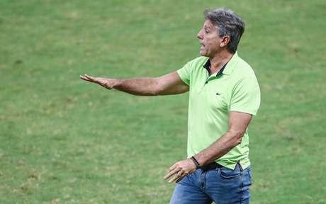 Renato analisou o empate contra o Ceará (Foto: LUCAS UEBEL/GREMIO)