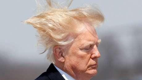 Trump disse que seu cabelo precisa ficar perfeito