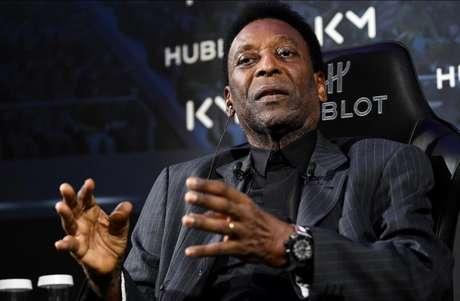 Pelé está sendo processado pela ex-mulher por atraso no pagamento de pensão (Foto: Franck Fife/AFP)