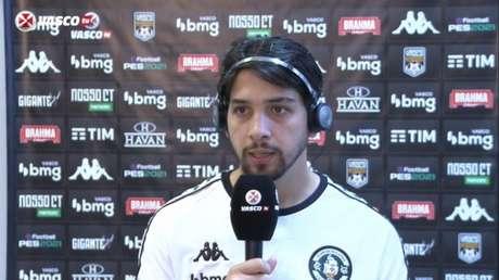 Benitez agradece confiança de Ramon e diz estar adaptado ao Brasil - Reprodução / VascoTV