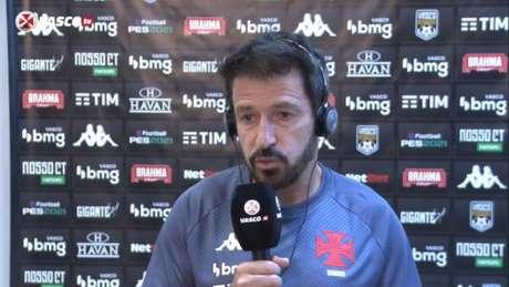 Ramon elogiou entendimento dos atletas do Vasco (Reprodução