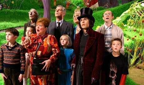 Cena do filme a fantástica fábrica de chocolate 2005