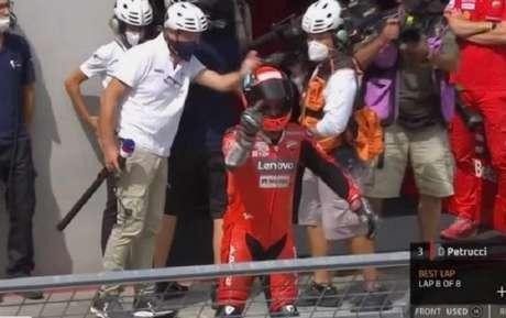 Danielo Petrucci, da Ducati, acredita que foi(Foto: Reprodução)