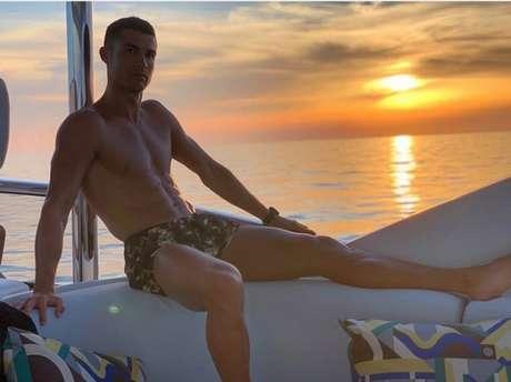Marcelo afirmou que entre a vista e o gajo, ficaria com a paisagem (Foto: Reprodução / Instagram)