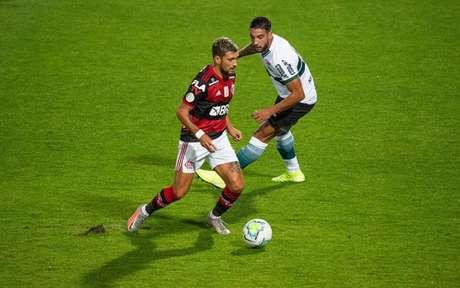 Arrascaeta garantiu os 3 pontos para o Fla (Foto: Alexandre Vidal / Flamengo)