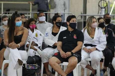 Evento foi realizado no Ginásio de Basquete do Vasco da Gama no Rio de Janeiro na última sexta (Foto: Dai Bueno)
