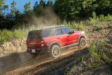 Bronco Sport chega com tração 4x4 para ser a resposta da Ford ao Jeep Compass a diesel.
