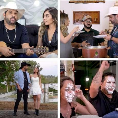 Cenas dos primeiros episódios do reality: muito bom humor e cantoria sertaneja