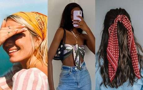 Formas de usar bandana