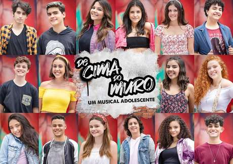 Elenco De Cima do Muro, o musical