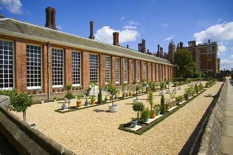 Orangery, espaço para as plantas exóticas