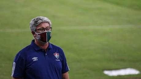 Odair lamenta falta de concentração no começo da partida - Foto: LUCAS MERÇON / FLUMINENSE