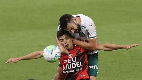 Palmeiras venceu o Athletico nos acréscimos (Cesar Greco/Agência Palmeiras)