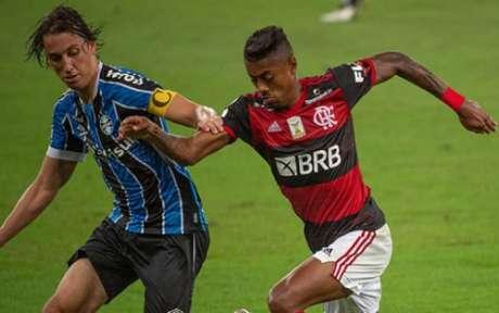 Bruno Henrique foi mal nesta quarta (Foto: Alexandre Vidal/Flamengo)