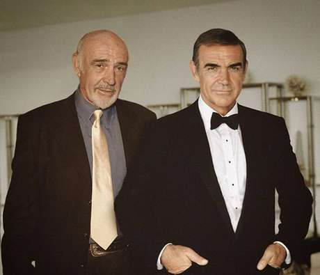 Sean Connery  - Sean Connery com seu eterno James Bond