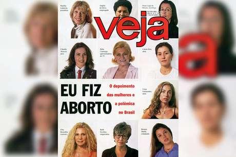 A capa polêmica: matéria de Veja produziu debates sobre o direito ao aborto